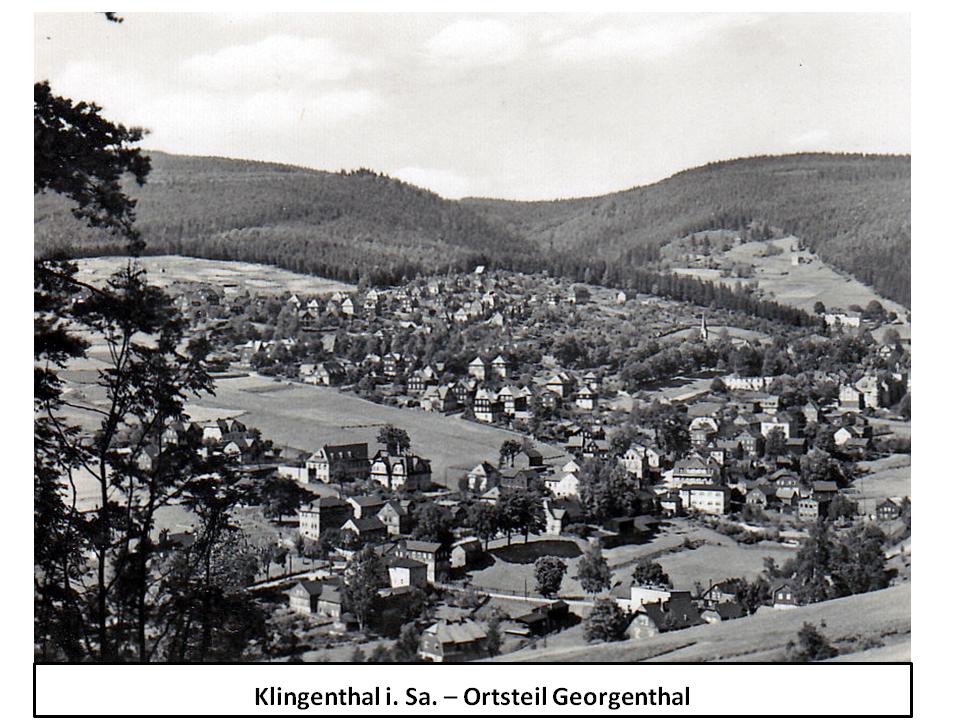Klingenthal i. Sa. – Ortsteil Georgenthal