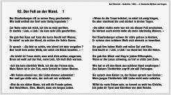 Der Fuss an der Wand – Karl Simrock (Teil 1)