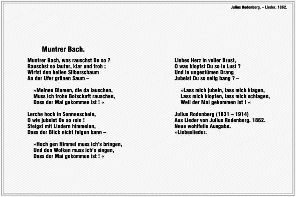 Muntrer Bach – Julius Rodenberg